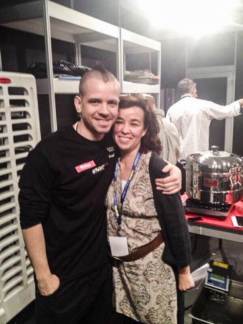 David Diverxo y Lola Laurel catering