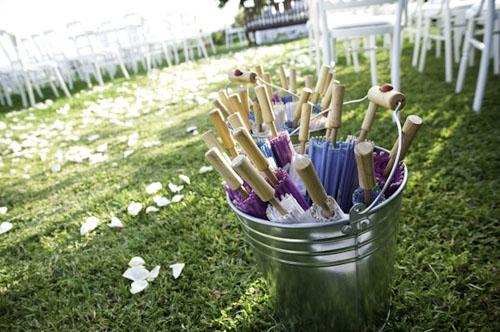 Sombrillas para boda