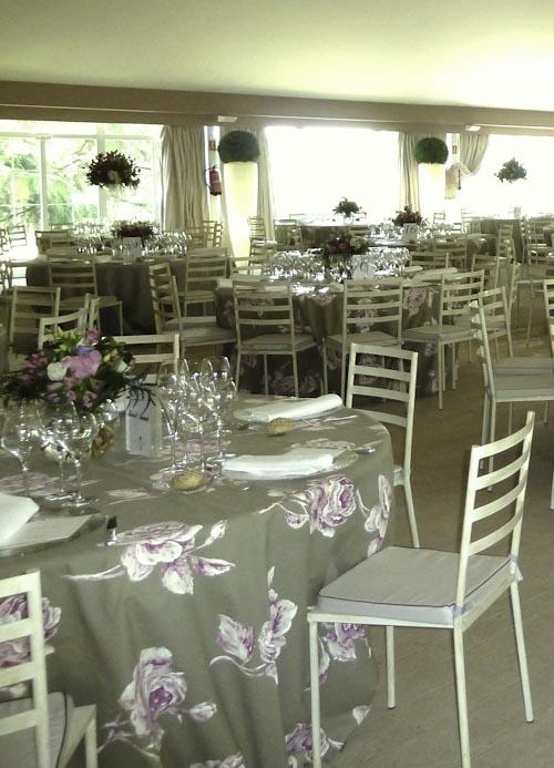 Mesa boda buffet